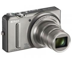 Nikon Coolpix + Spare battery + Stand + Memory Card